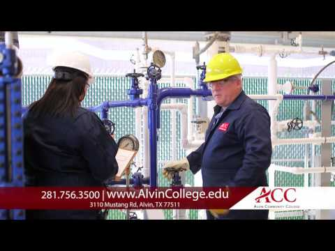 Alvin Community College Petrochemical Commercial