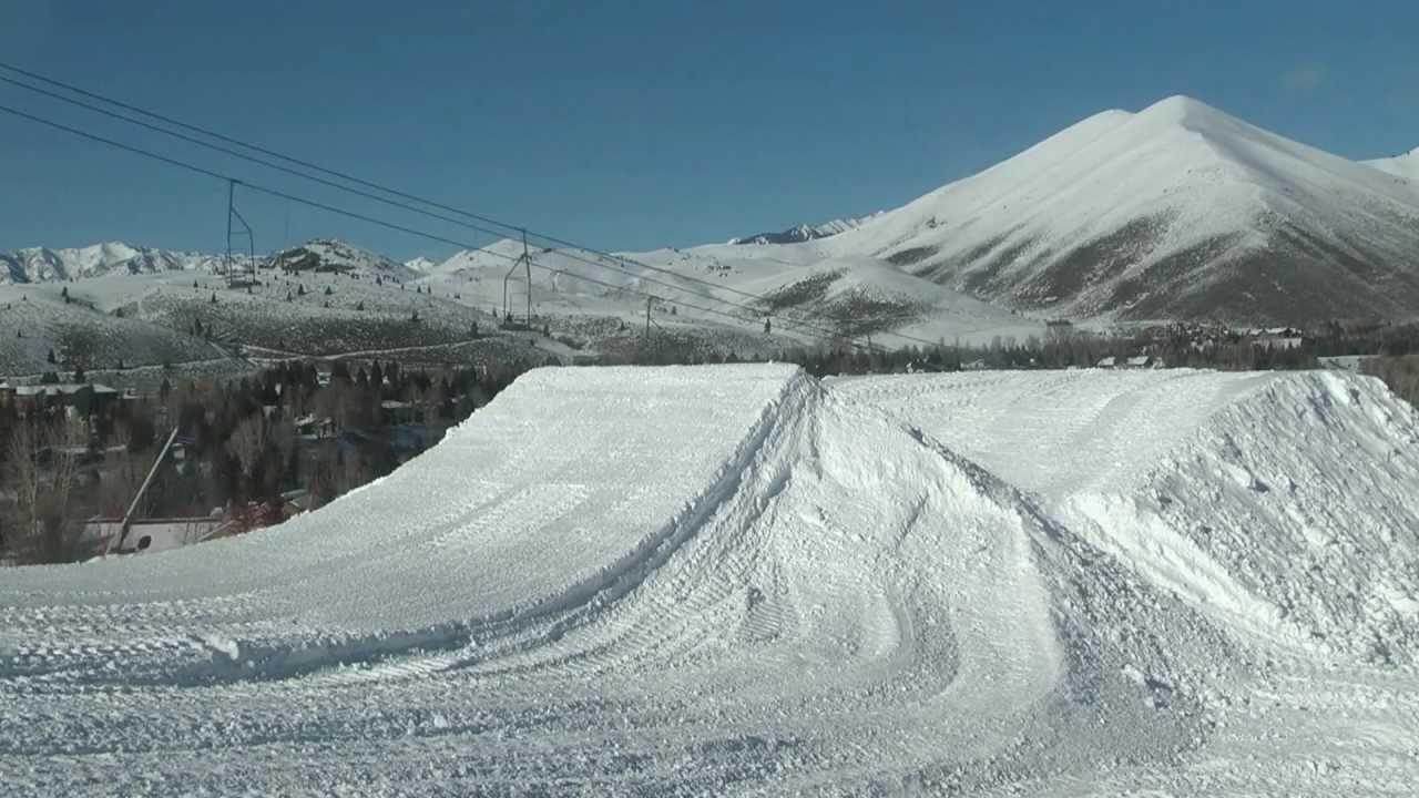 sun valley terrain parks jump building