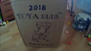 Распаковка и обзор коляски YOYA PLUS 2018
