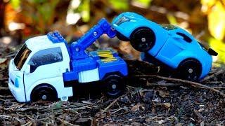 Тобот - Трансформер О. Робот - эвакуатор. Игрушки трансформеры для детей