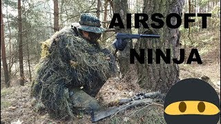 Airsoft Sniper Gameplay - NINJA - Kaczmysz