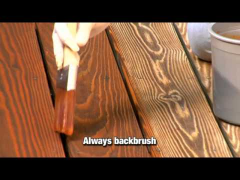 How to Apply a Clear Toner or SemiTransparent Wood Stain