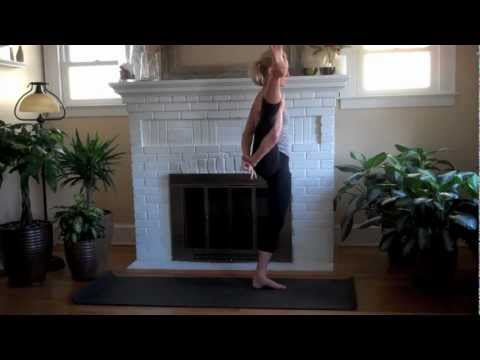 yoga online easy bird of paradise  youtube