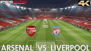 PES 2019 (PC) Arsenal vs Liverpool | PREMIER LEAGUE MATCH PREVIEW | 3/11/2018| 4K 60FPS