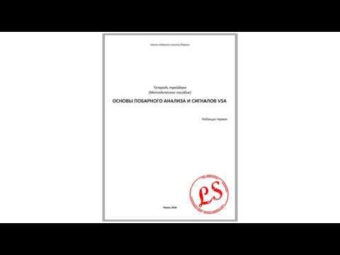 """Краткий обзор тетради трейдера """"Основы побарного анализа и сигналов VSA"""""""