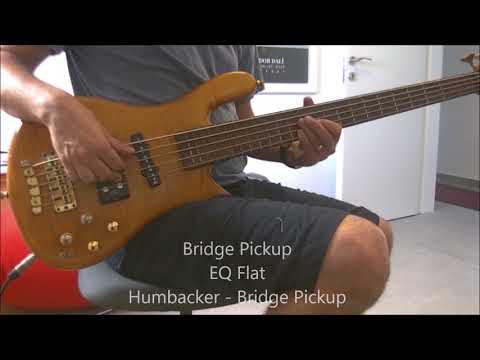 Warwick Streamer Jazzman 5 - Demo