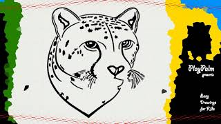 How to draw Cheetah