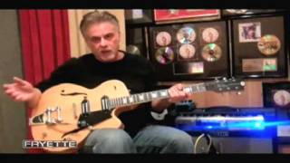 Pete Anderson demos the Fryette Memphis 30 Combo with Reverend PA-1