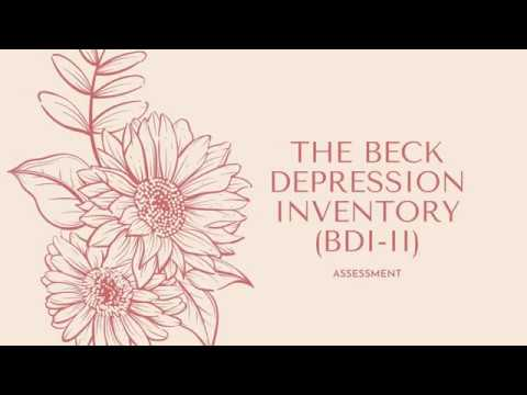 How to solve and calculate beck depression inventory test. from YouTube · Duration:  2 minutes 25 seconds