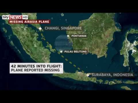 AirAsia Flight QZ8501 Goes Missing With 162 On Board