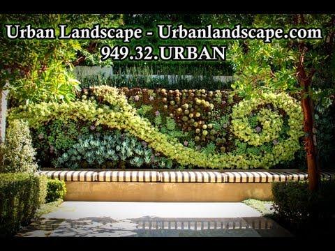 Urban Landscape Design & Construction - Custom Home Landscaping & Outdoor Living Area