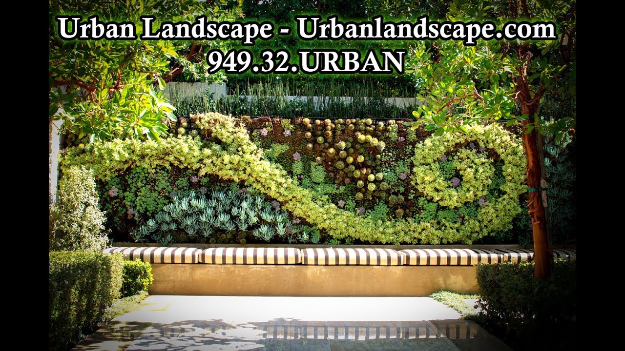 Urban Landscape Design Construction Custom Home Landscaping