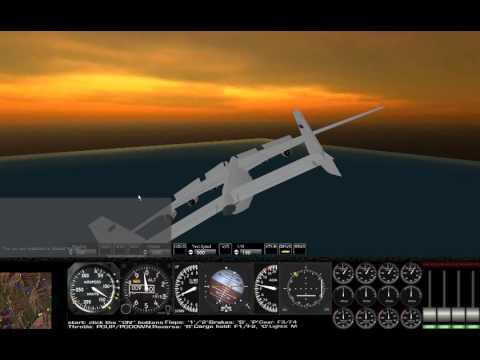 Antonov 225 Landing Rigs of Rods RoR at Aspen map