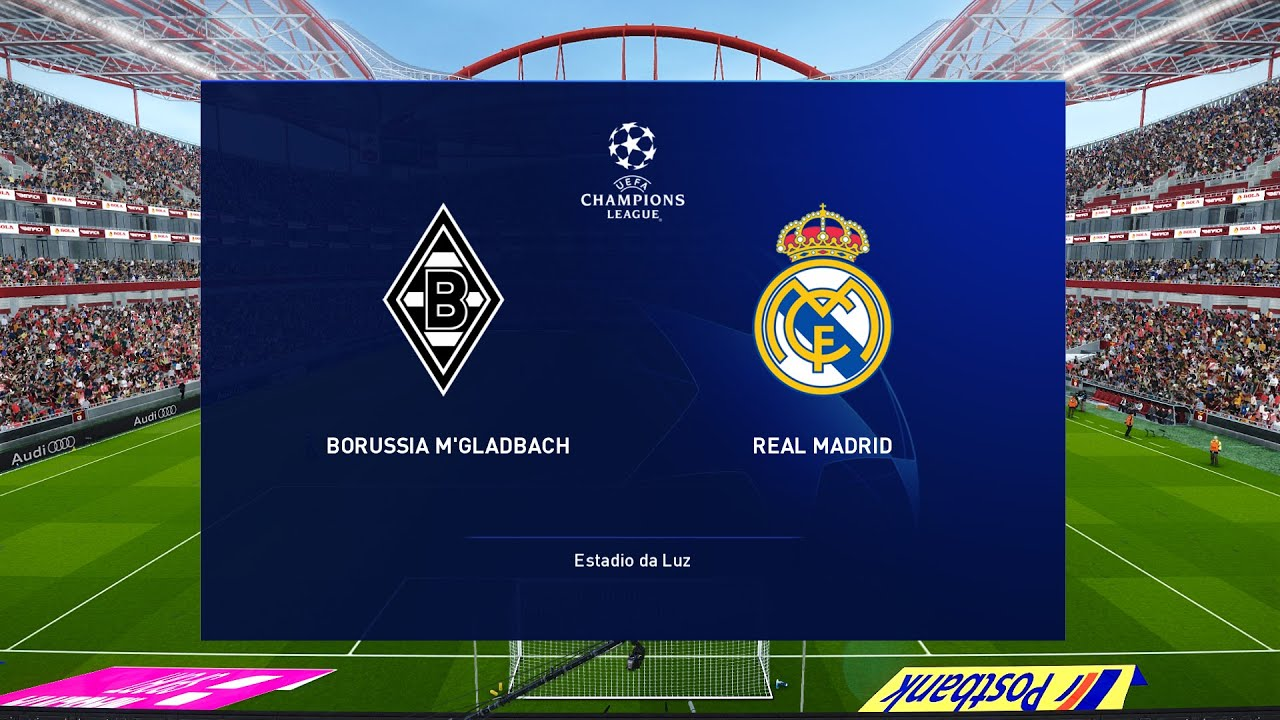 Borussia M Gladbach Vs Real Madrid Ucl 27 October 2020 Gameplay Youtube