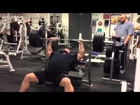 Eddie Hall Huge Bench Press Youtube