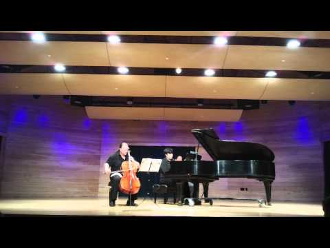 Rachmaninoff Cello Sonata, Mov. 4  Jameson Platte, Cello  Matthew Quayle, Piano