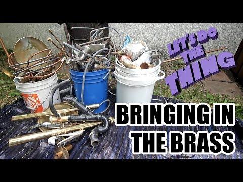 Scrap Run - Scrapping A Heap Of Brass!