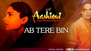 Ab Tere Bin Full Song (Audio) | Aashiqui | Rahul Roy, Anu Agarwal