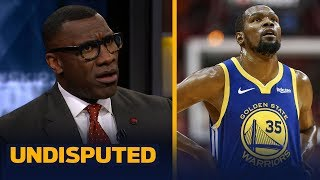 Skip and Shannon react to reports that KD could be back for Game 3 of the Finals | NBA | UNDISPUTED