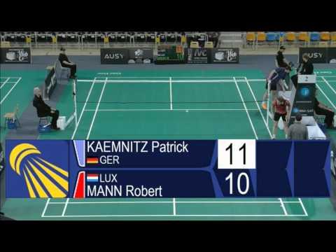 Patrick Kaemnitz vs Robert Mann (MS, Qualifier) - Orleans Intl. 2016