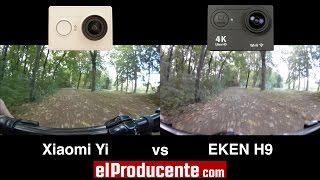 Xiaomi Yi vs EKEN H9 4K Action Camera - (1080p 60fps)
