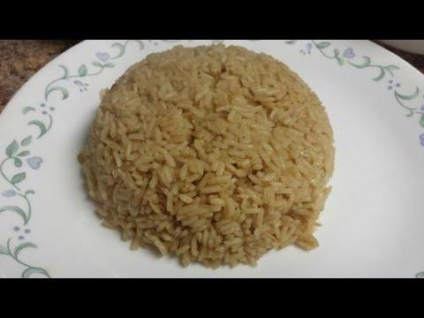 como preparar arroz blanco con cebolla larga