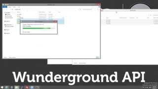 Weather Underground (Wunderground) API :: Part 3