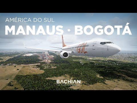 Prepar3Dv4 - B737-800 / Manaus → Bogotá