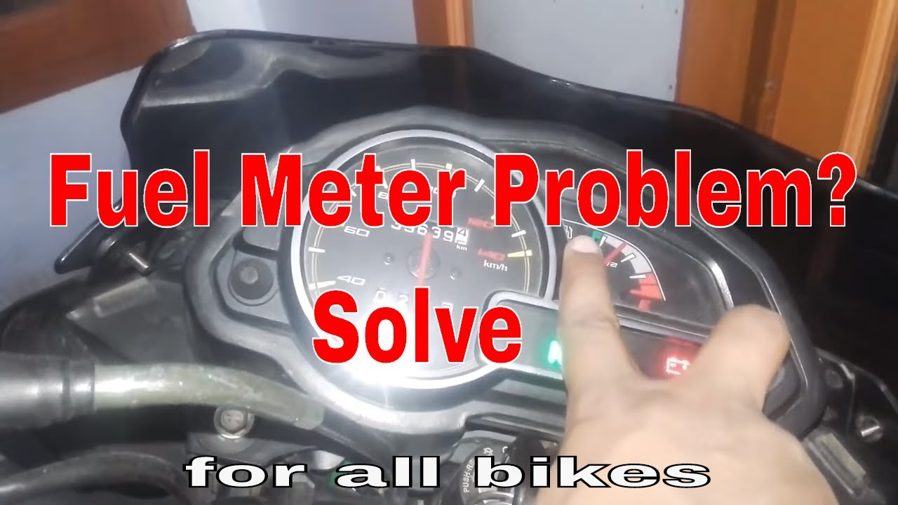 How To Repair Fuel Meter In Bike Youtube Honda Cdi Neutral Safety Switch Wiring Diagram