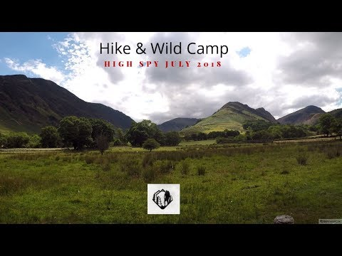 Hike and Wild Camp High Spy Lake District July 2018 thumbnail
