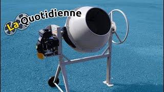 Présentation bétonnière thermique C2M