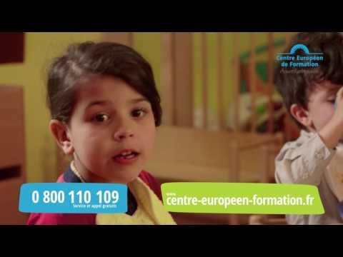 Publicité Centre Européen de Formation Petite Enfance Juin 2017