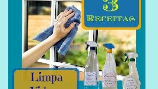 3 receitas caseiras de limpa vidros por Donas de Casa Anônimas