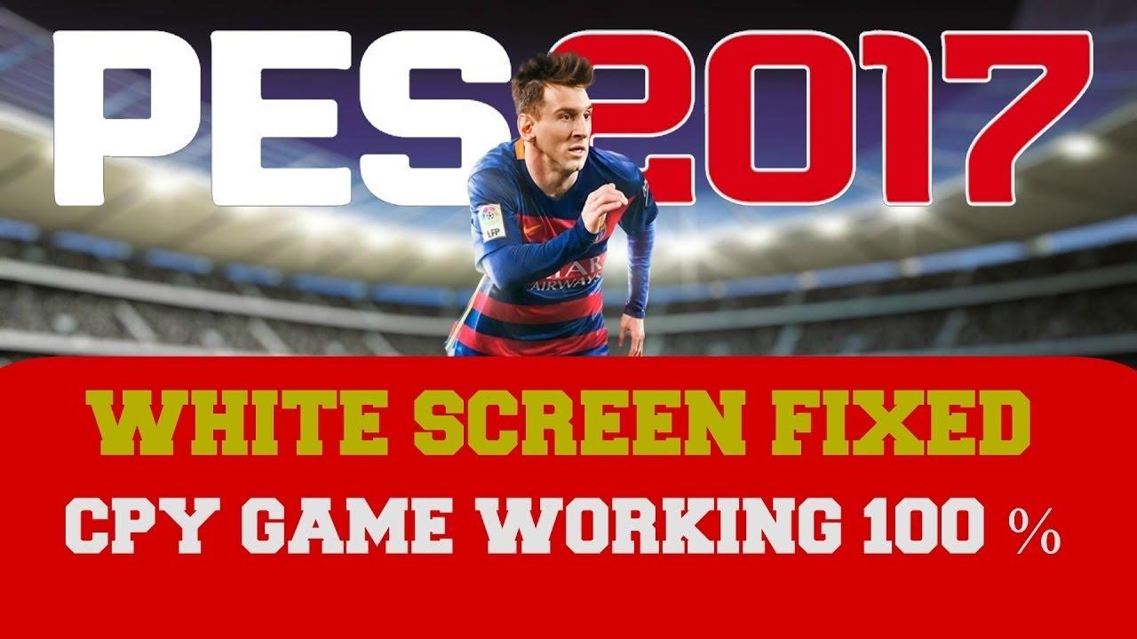 White Screen Loading Screen FIX! - PES 2017