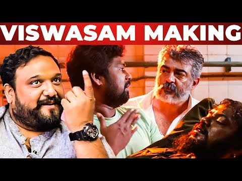 VISWASAM Making of Thala Ajith Intro Scene! - Director Siva & DOP Vetri Explains | Part 1 | SM 37