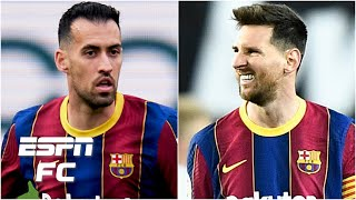 'HEROIC' Sergio Busquets Saved Lionel Messi's Blushes On Penalty Miss Vs. Valencia   ESPN FC