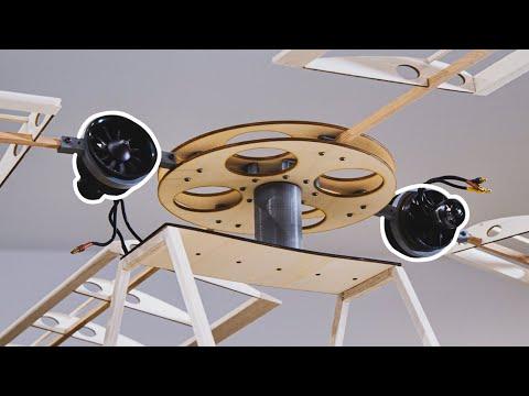 DIY Tip Jet Helicopter (Build) #2