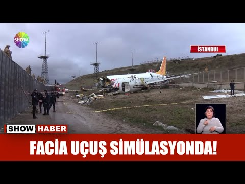 Facia uçuş simülasyonda!