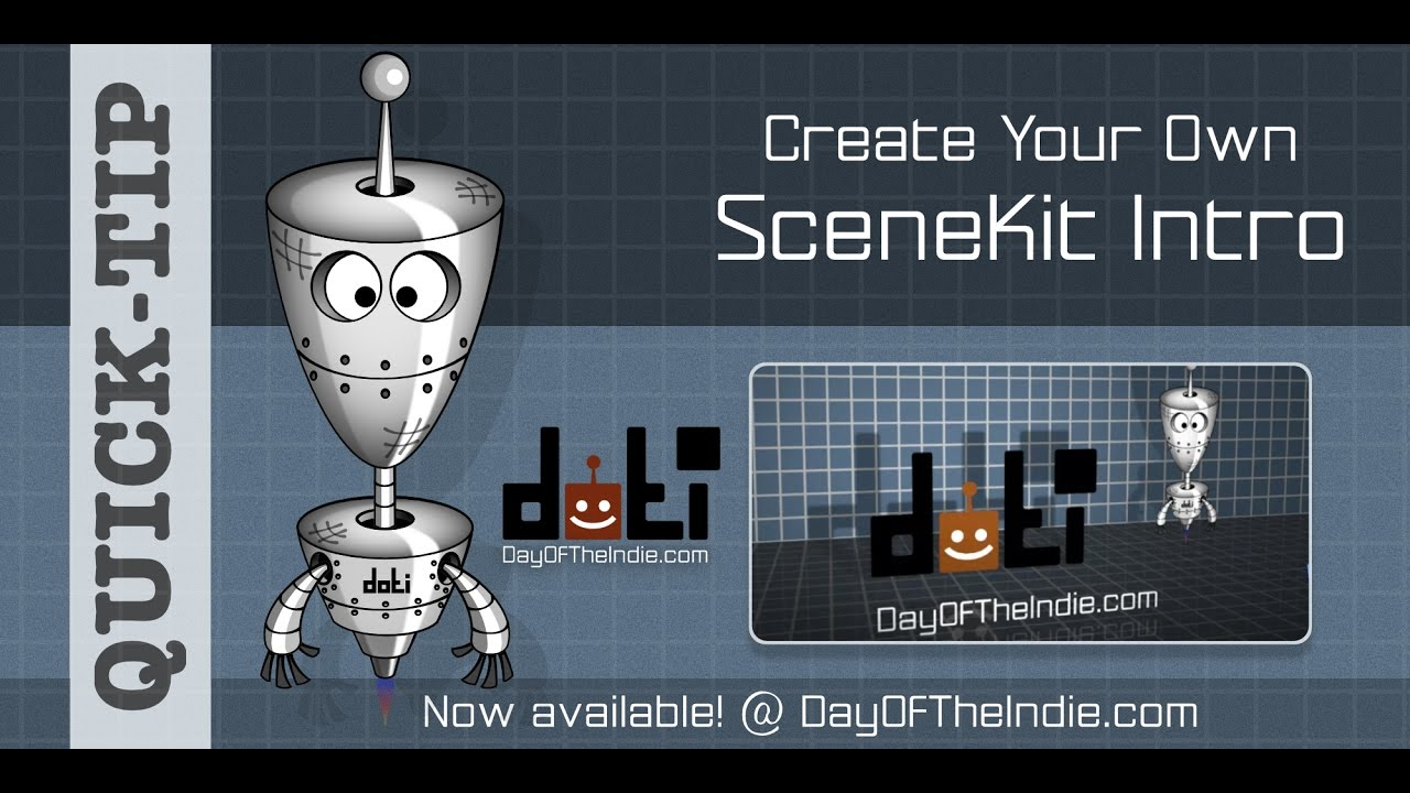 SceneKit – Day Of The Indie