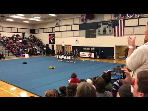 Apex middle school cheer competition 2019