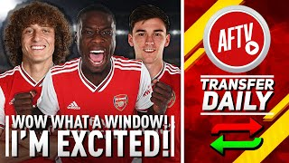 Wow What A Window, I'm Excited! | AFTV Transfer Daily Full Review