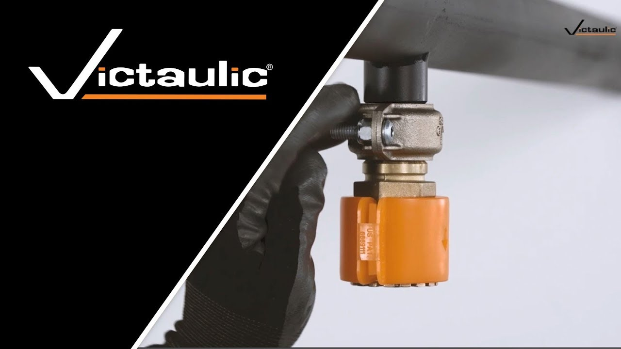 Victaulic Style V9 FireLock™ IGS Sprinkler Coupling Installation  Instructions