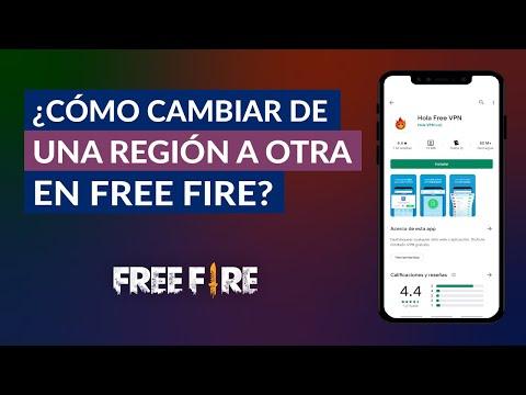 Cómo Puedo Cambiar de una Región a Otra en Garena Free Fire