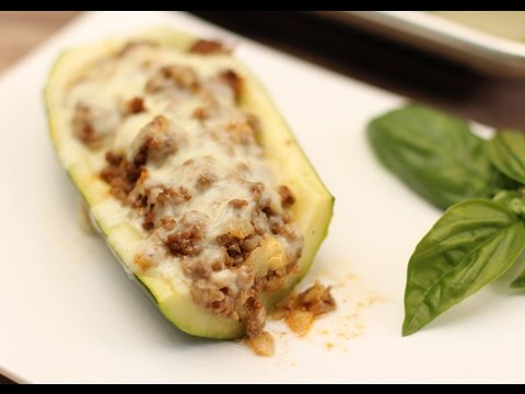 Mexican Stuffed Zucchini Easy Dish For Those Large Squash by Rockin Robin