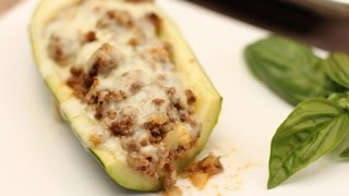 Mexican Stuffed Zucchini - Easy Dish For Those Large Squash By Rockin Robin