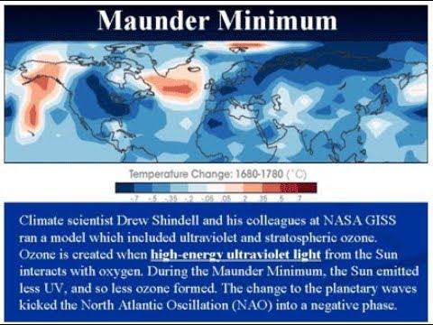 GSM Update 3/17/18 - Record Cold - Record Snow - Maunder Minimum Temp Reconstruction