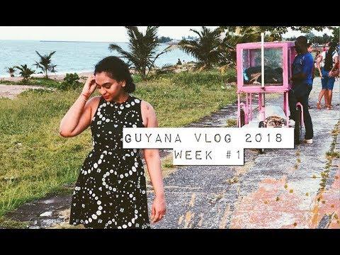 WEEK 1 OF 5 | GUYANA VACATION 2018 VLOG | REESIIBABE