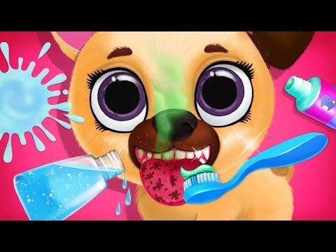 Kiki & Fifi Pet Friends - Virtual Cat & Dog Care Makeover - Fun Kids Games TutoTOONS