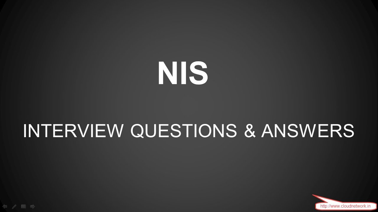 nis nfs interview question and answer for both fresher nis nfs interview question and answer for both fresher experience