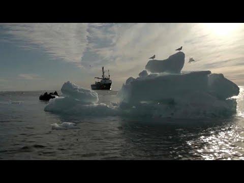 euronews (en français): Arctique : la fonte de la banquise s'accélère